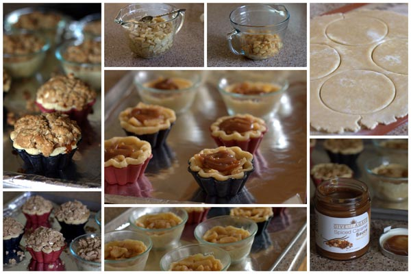 How to Make Caramel Apple Streusel Tarts | Barbara Bakes