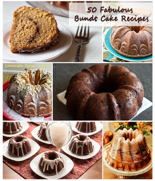 50 Fabulous Bundt Cake Recipes at Barbara Bakes