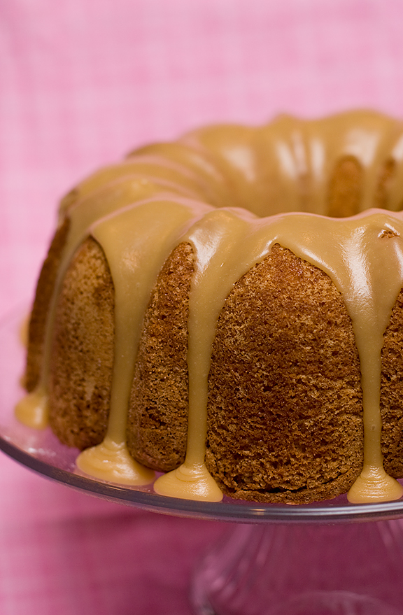 Chocolate Caramel Bundt Cake