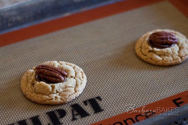 Turtle Peanut Blossom Cookies   Barbara Bakes