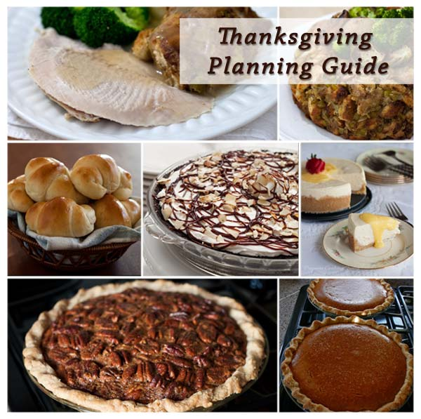 A Thanksgiving Planning Guide to help make planning Thanksgiving dinner this year a breeze.