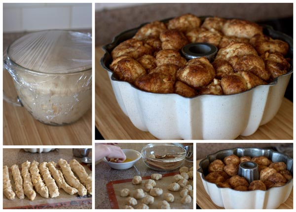 Step by Step Guide Overnight Apple Fritter Monkey Bread @BarbaraBakes.com