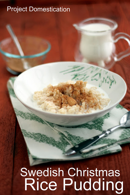 Swedish Christmas Rice Pudding