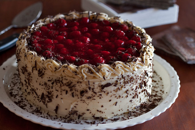 Black Forest Cheesecake Cake recipe from Barbara Bakes