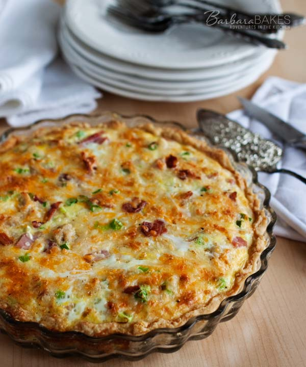 Meat lovers quiche recipe barbara bakes meat lovers quiche recipe barbara bakes breakfast forumfinder Gallery