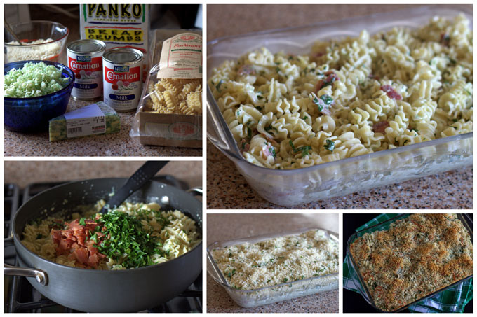 How to Make Baked Sage Derby Macaroni and Cheese