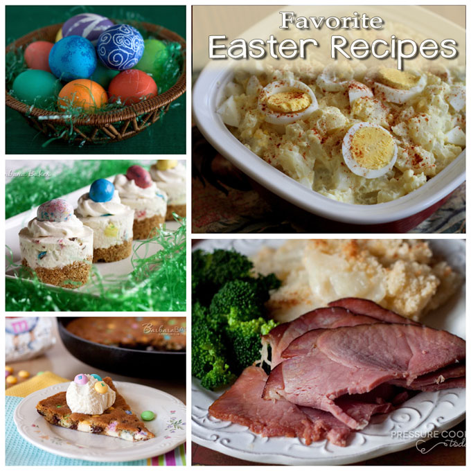 Favorite Easter Recipes from Barbara Bakes