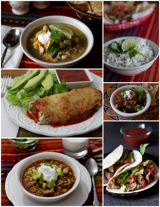 Cinco de Mayo Roundup Pressure Cooking Today