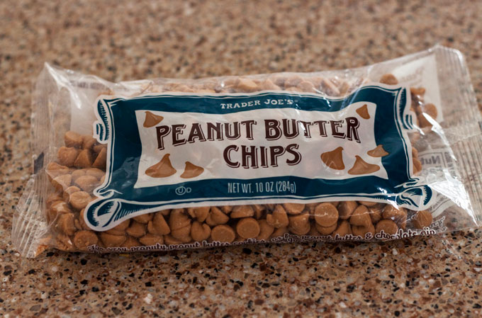 Peanut Butter Chips from Trader Joe's