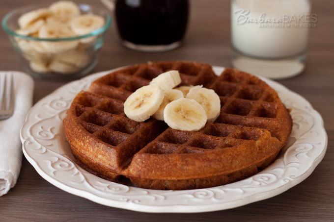 The Best Whole Wheat Waffles Ever from Eat Fresh Quick and Easy Meals by Chef Tom