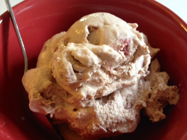 Roasted Strawberry Ice Cream From 101 Gourmet Ice Cream Creations