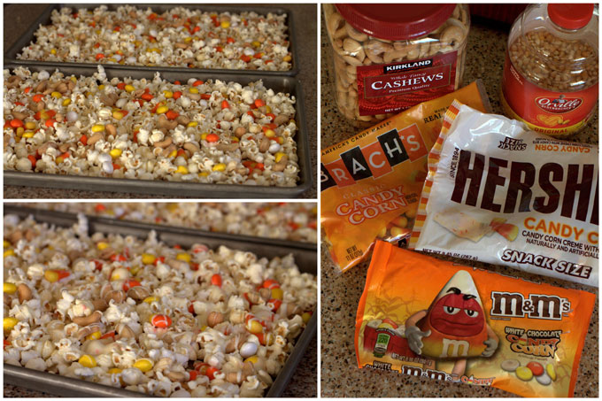Making Candy Corn Popcorn