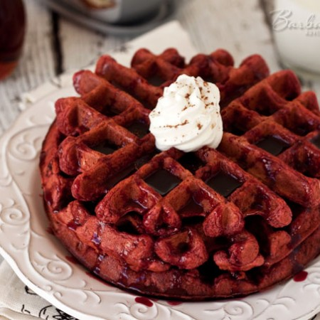 Red-Velvet-Waffles-4-Barbara-Bakes