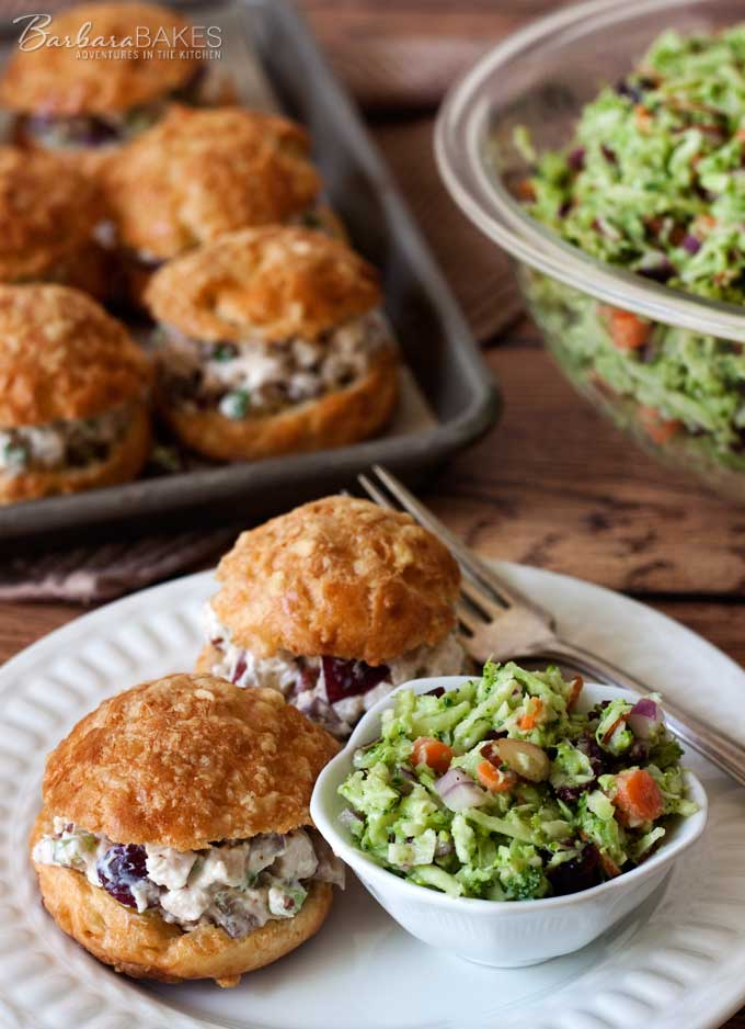 Broccoli Slaw Salad recipe from Barbara Bakes
