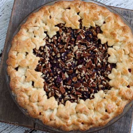 Cranberry-Pecan-Pie-4-Barbara-Bakes