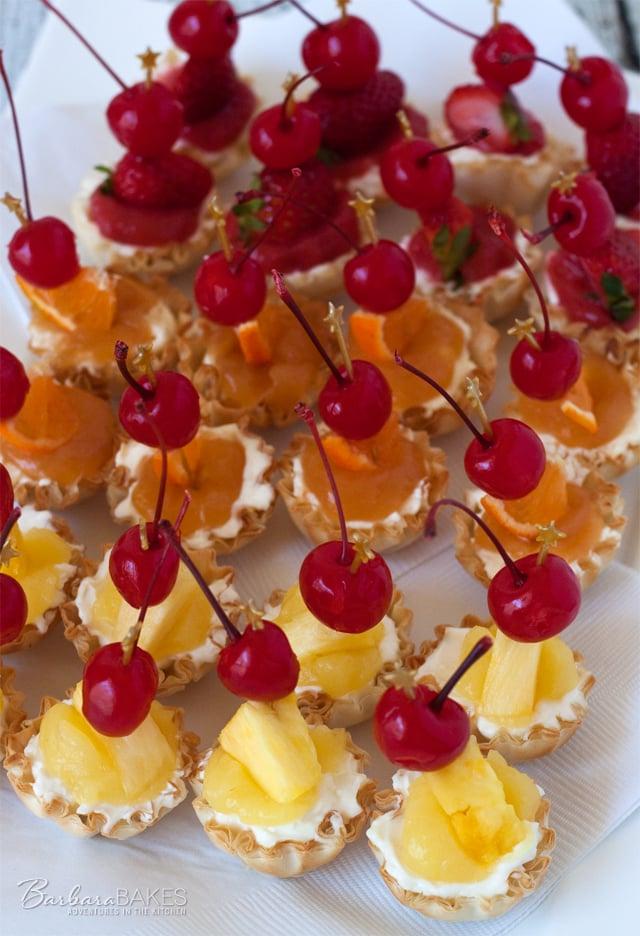 A dessert twist on popular tropical cocktails.