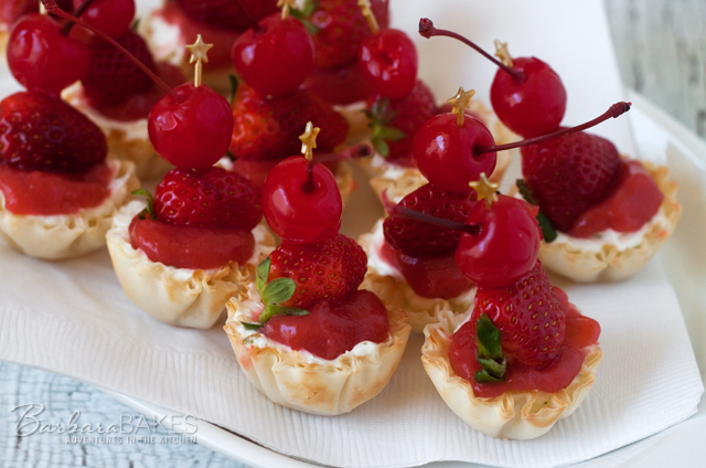 No-Bake Strawberry Margarita Cheesecake Bites recipe from Barbara Bakes