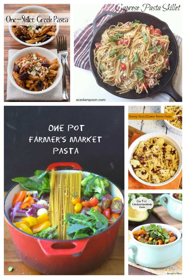 Healthy One Pot Pasta Recipes