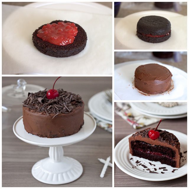 Cherry-Chocolate-Cake-for-Two-Collage-Barbara-Bakes