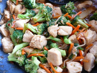 Szechwan Chicken Stir Fry