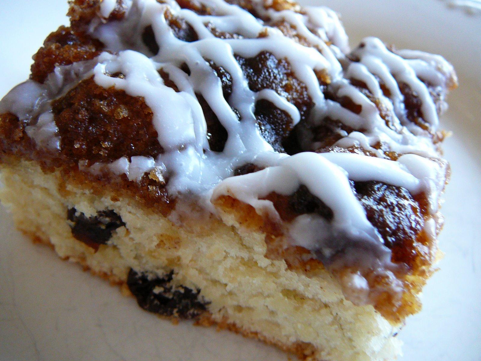 Quick and Easy Cinnamon Bun Bread, Snow, and An Award
