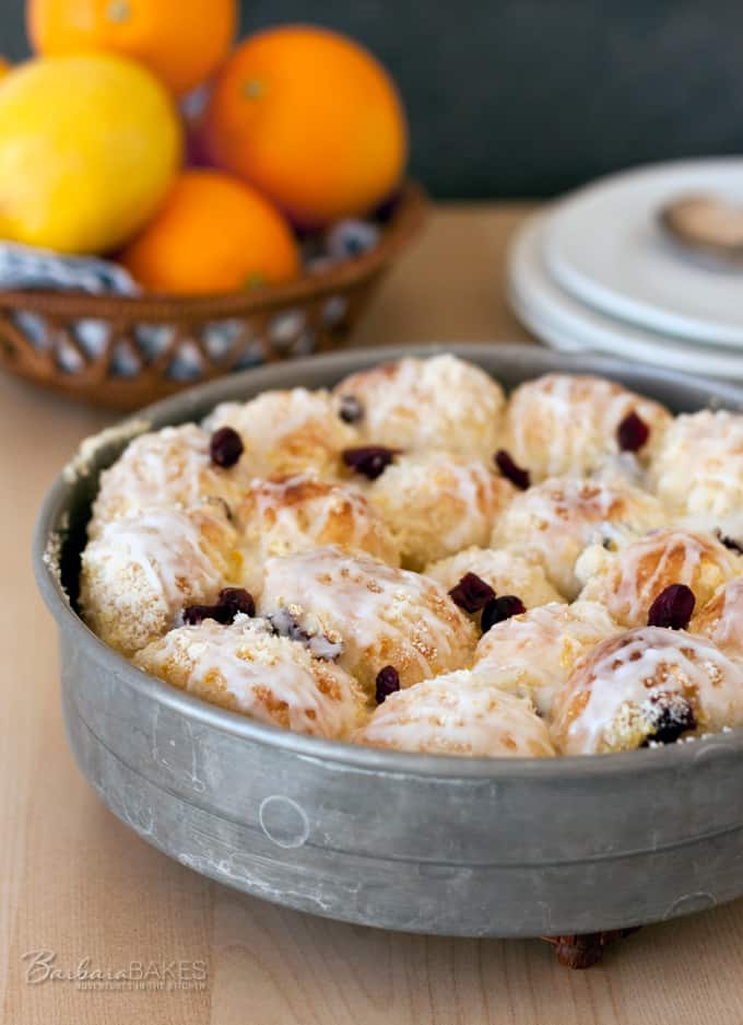 This is one of my all time favorite breakfast recipes. It is a Cooking Light recipe that tastes sinfully delicious. Citrus Cream Cheese Pull Apart Rolls