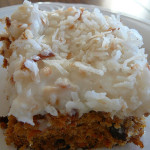 Light Tropical Carrot Cake