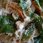Quick Asian Spinach Salad