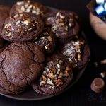 Chocolate Caramel Rolo Cookies