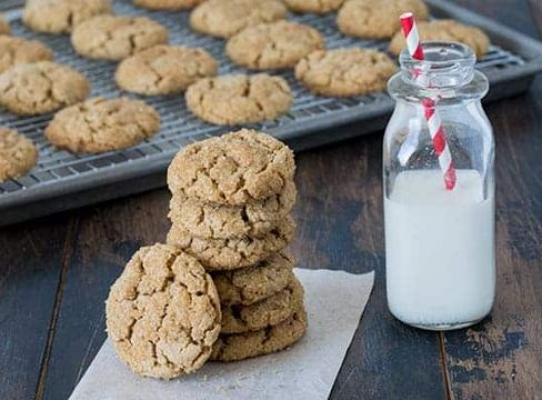 Featured Image for post - Chunky Peanut Butter Cookies