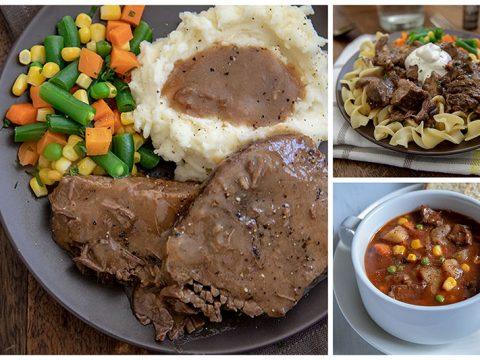 Three Easy Round Steak Meals