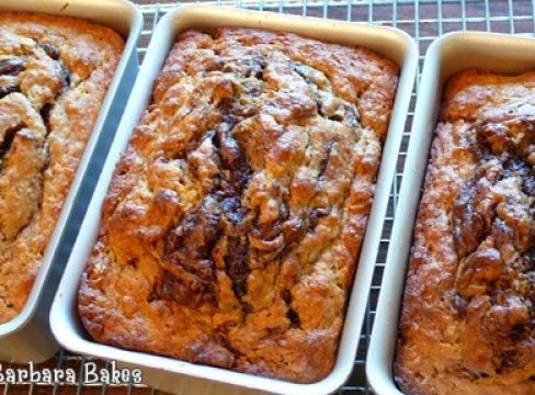 Featured Image for post Banana Nutella Bread