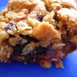 Very Berry Crumble Bars