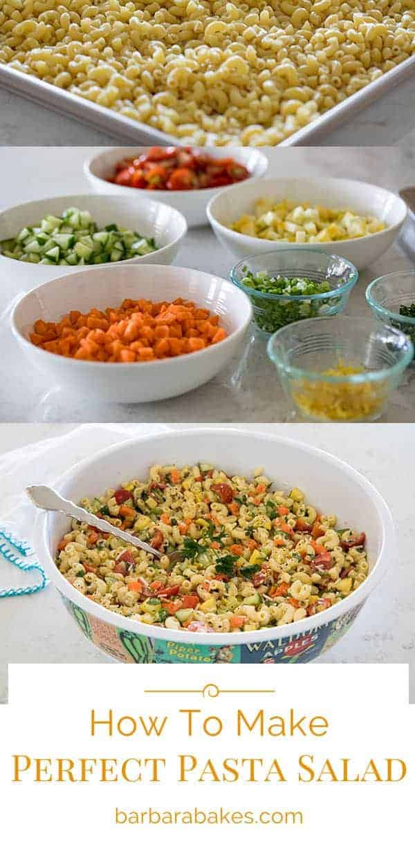 With this easy recipe and great tips, I'll show you how to make perfect pasta salad every time.