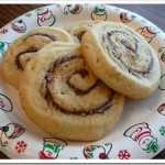 Orange Nutella Pinwheel Cookies
