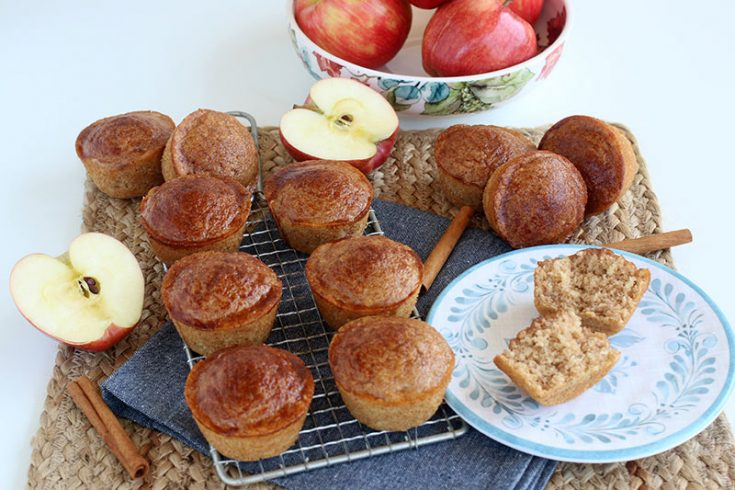 Apple Cinnamon Sugar Donut Muffins