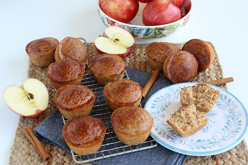 Apple Cinnamon Donut Muffins