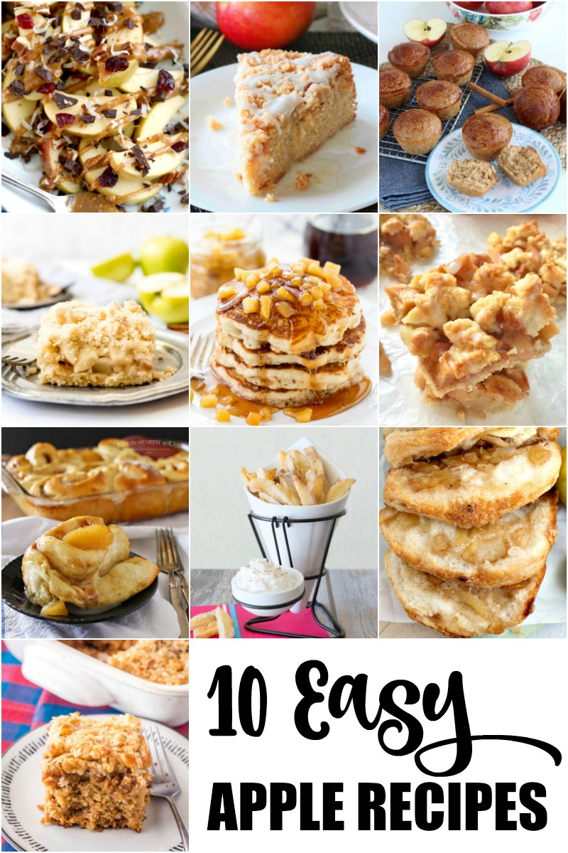10 Easy Apple Recipes