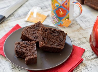 A Chocolate Chocolate Chip Quick Bread Quick that's moist and tender, rich and delicious and loaded with chocolate chips.