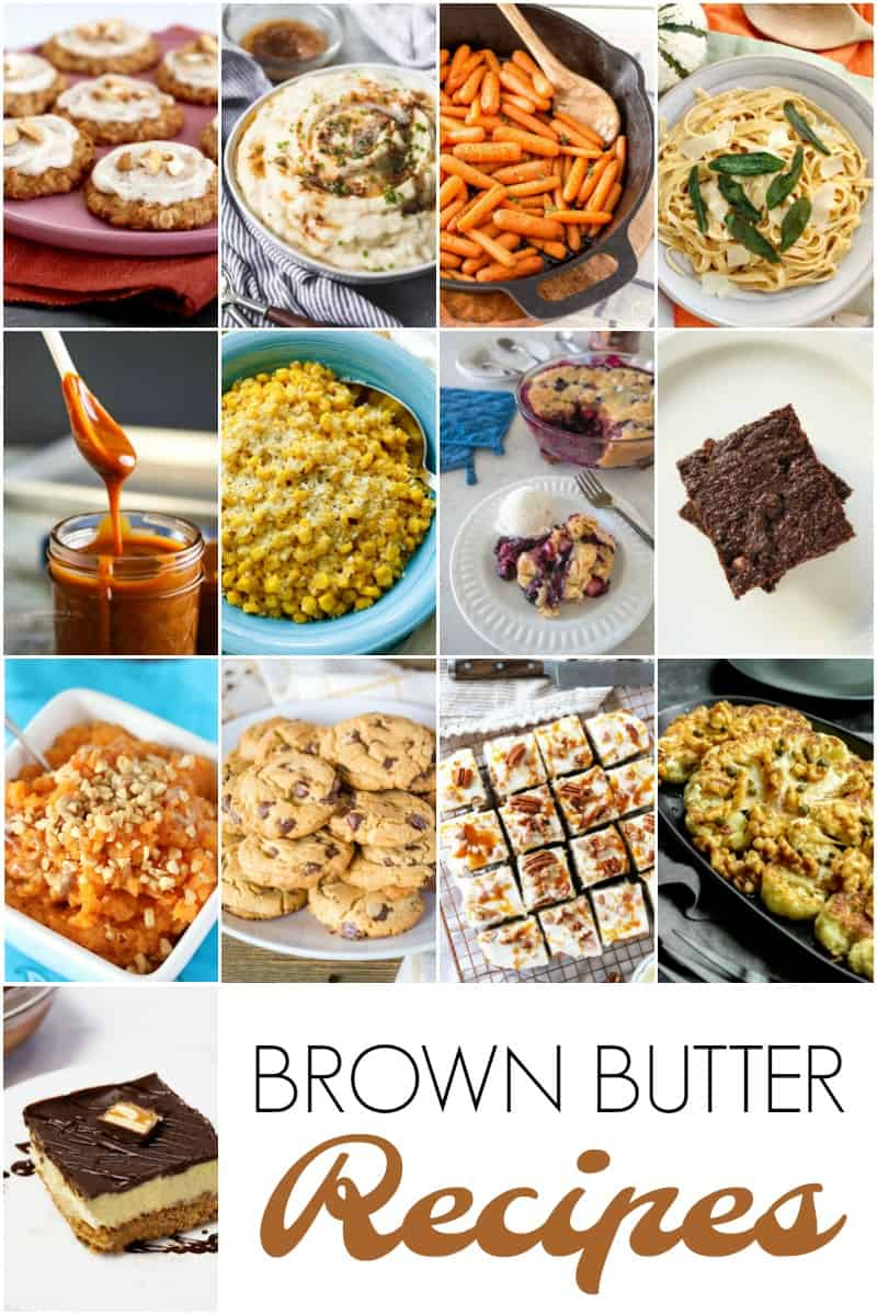 Brown Butter Recipe Roundup