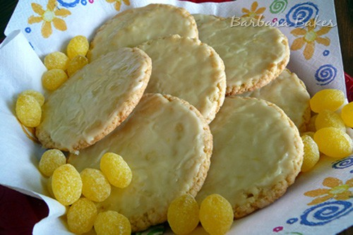 Old Fashioned Lemon Drop Cookies