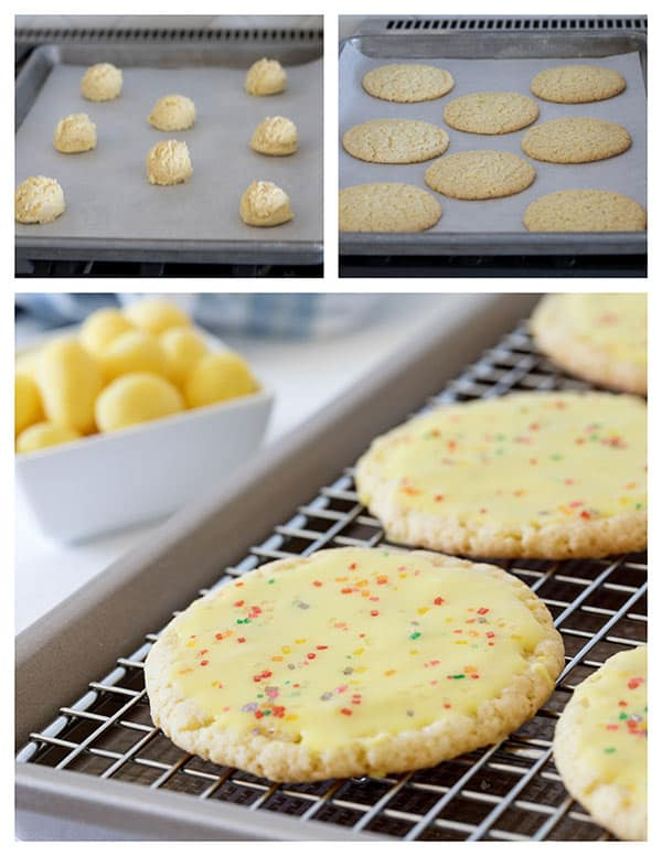 Making Over The Top Lemon Drop Candy Cookies