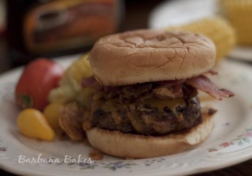 Bobby Flay's Cheyenne Burger