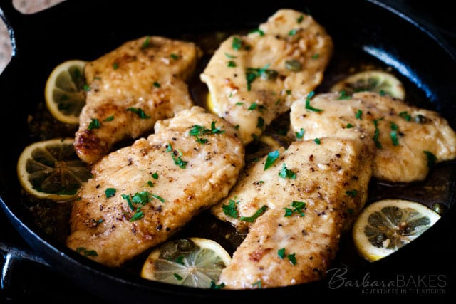 Quick-and-Easy-Chicken-Piccata-3-Barbara-Bakes