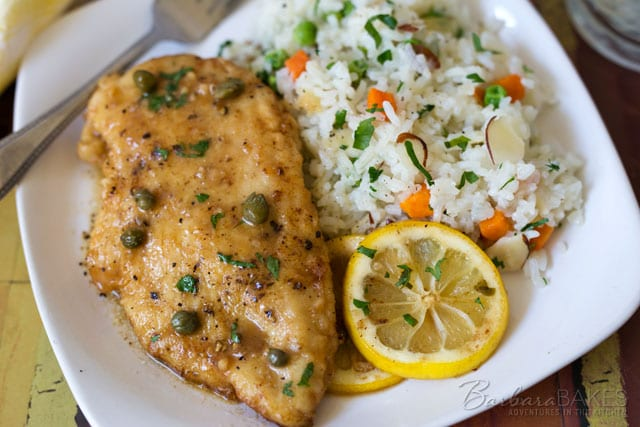 Quick And Easy Chicken Piccata Barbara Bakes
