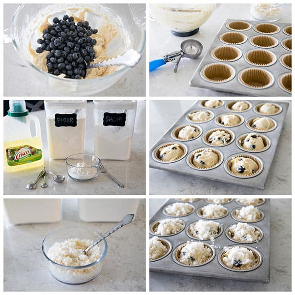 Making The Best Blueberry Streusel Muffins