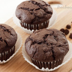 Whole Wheat Chocolate Chocolate Chip Muffins
