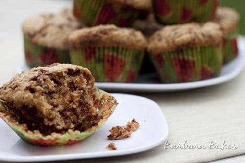 Cinnamon Zucchini Muffins