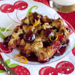 Baked Cherry French Toast