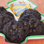 Chocolate Fudge Butterfinger Cookies